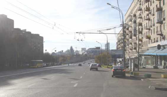 Москва. Смоленская улица