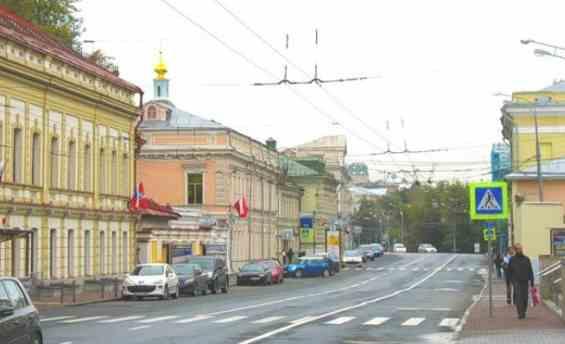 Москва. Старинная улица Солянка