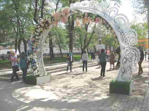 Тверской бульвар. Фестиваль Москвовская весна