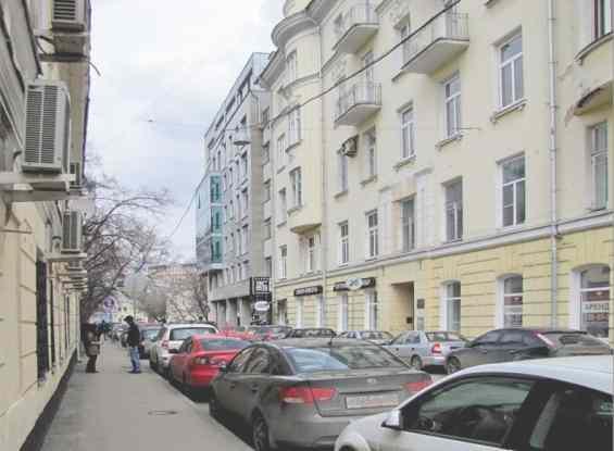 Москва. Тихий Большой Кисловский переулок