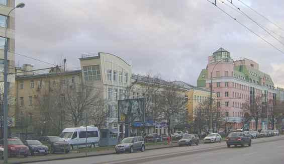 Таганский район. Марксиcткая улица -- одна из главных в районе