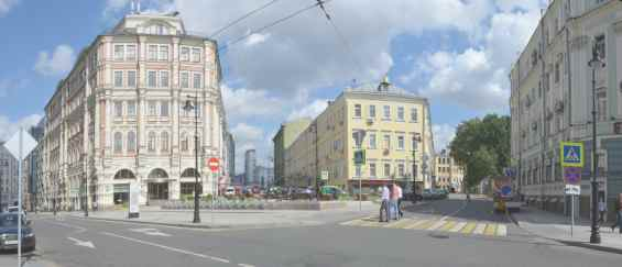 Басманный район. Старинная Мясницкая улица