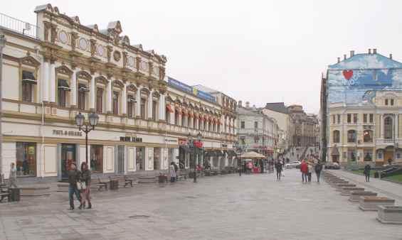 Старинная улица Кузнецкий мост. Мещанский район