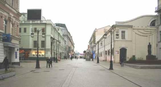 Тверской район Камергерский переулок
