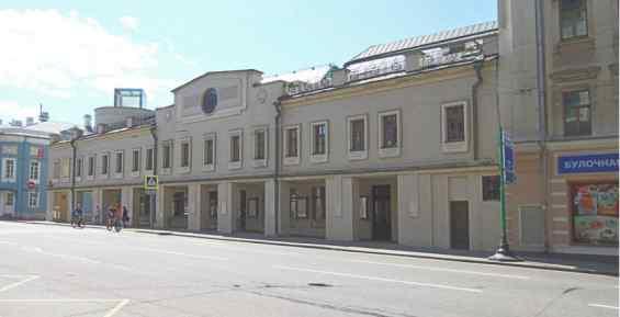 Улица Сретенка 19 Школа Драматического исскуства
