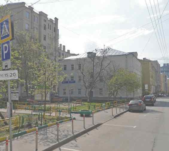 Москва. Колокольников переулок 16