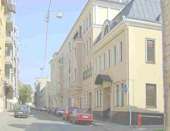 Москва. Печатников переулок. Дом посроен в ХIX веке