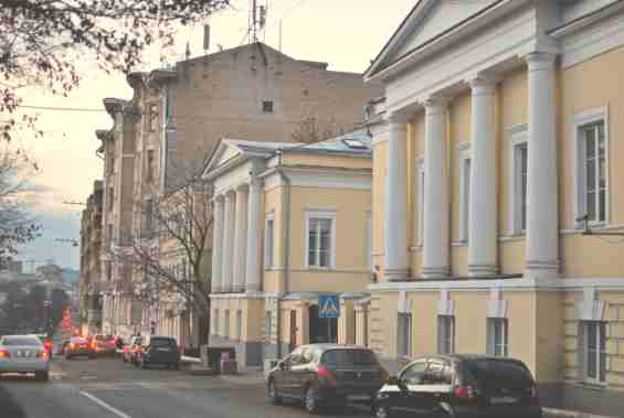 Москва. Рождественский бульвар