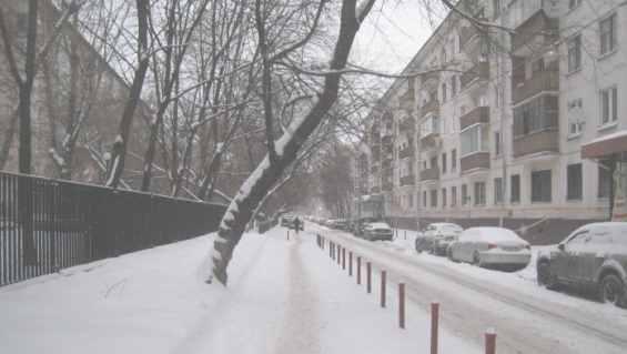 Татарская улица в зимний период