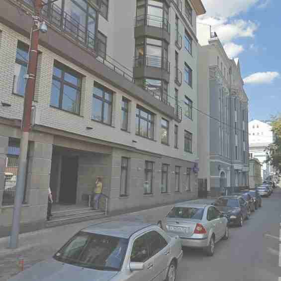 Москва. Район Хамовники 2 Обыденский переулок д. №1а