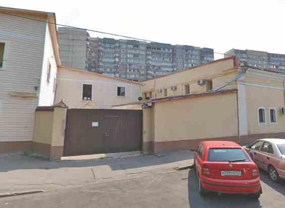 Москва. 1 Добрынинский переулок 19 с 6