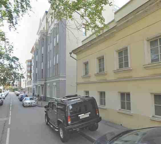 Москва. Золотая миля. 2 Обыденский переулок 3 с 1