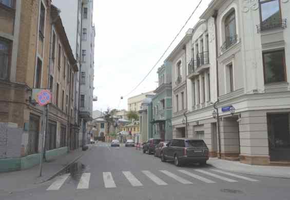 Глазовский переулок в Москве