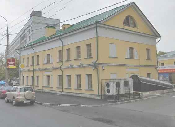 Москва. Старинный 3 Люсиновский переулок
