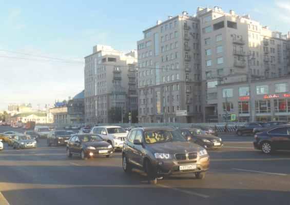 Москва. Улица Серафимовича