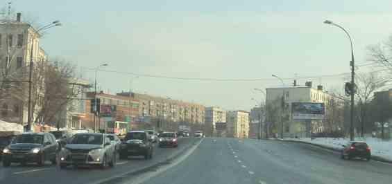 Москва. Симоновский Вал
