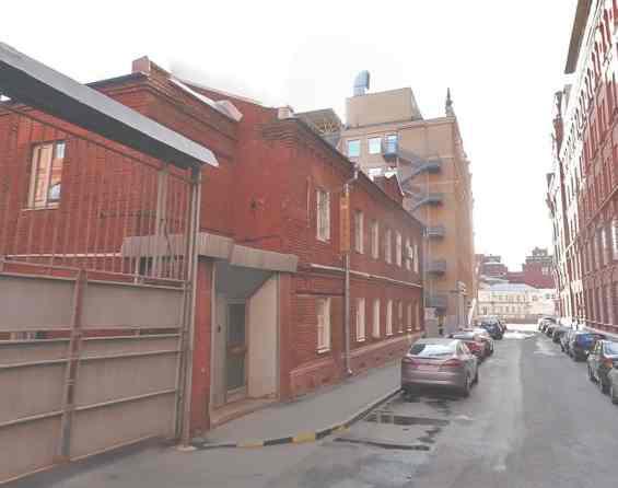 Москва. Старинный 4 Голутвинский переулок