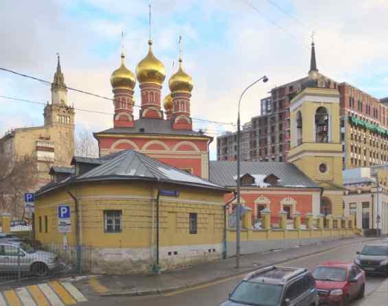 Москва 1 Смоленский переулок