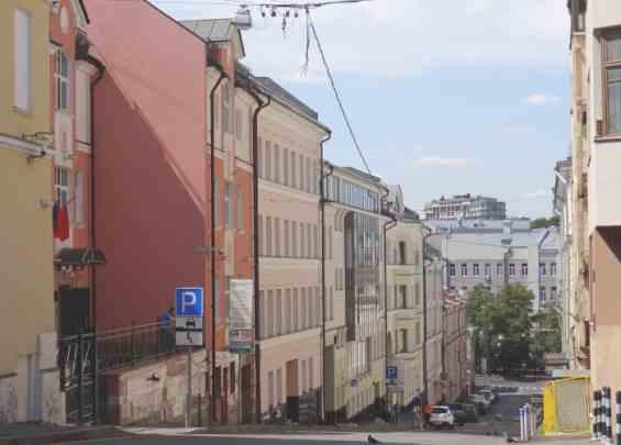 Москва. Нижний Кисельный переулок