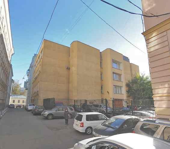 Москва. Малый Спасоглинищевский переулок 3