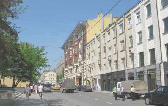 Москва. Старинная улица Большая Дмитровка