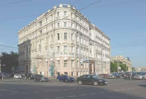 Москва. Зубовский бульвар 22  Доходный дом Литухина