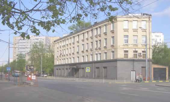 Мегаполис Москва. Улица Пресненский вал