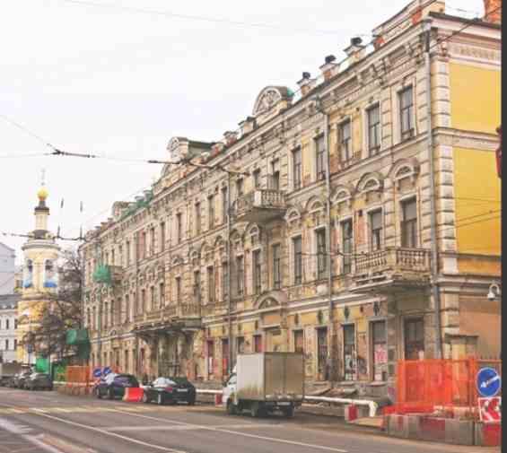 Улица Солянка. доходный дом Расторгуевых