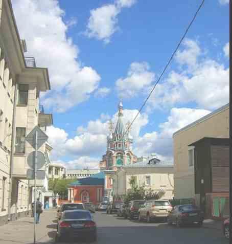 Москва. Бродников переулок