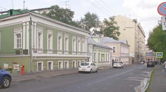 Старинный 1 Спасоналивковский переулок