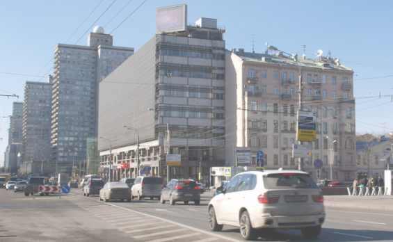 Москва. Оживлённая улица Новый Арбат
