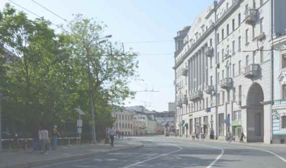 Улица Солянка. Басманный район. Москва