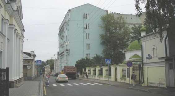 Успенский переулок Москва. Тверской район