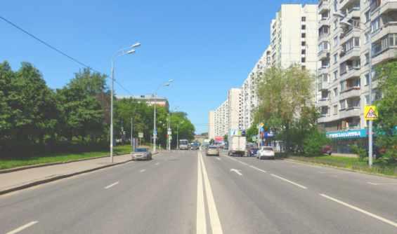 Москва. Олимпийский проспект