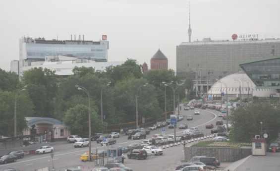Олимпийский проспект Москвы сформирован из нескольких улиц