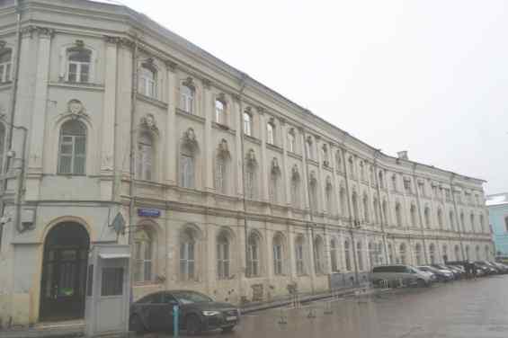 Москва. Фуркасовский переулок. Доходный дом середины XIX века