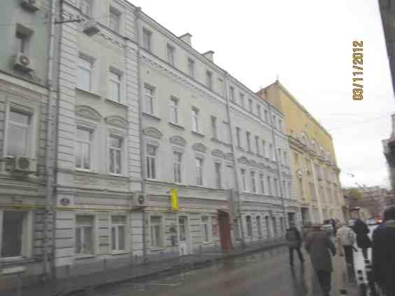 Москва. Дом в Малом Каретном переулке