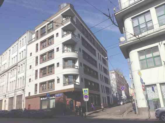 Москва. Старинный Лучников переулок