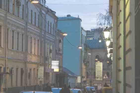Басманный район. Москва. Лучников переулок 7