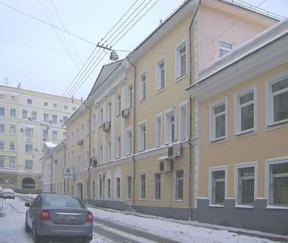 Девяткин переулок. Городская усадьба Бояркиных