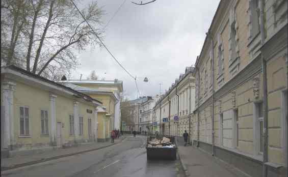 Старинный Потаповский переулок Москвы