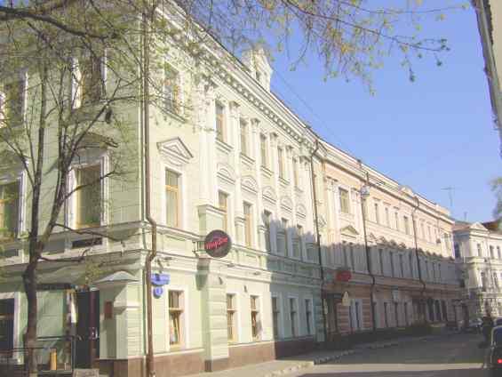 Потаповский переулок. Басманный район Москвы