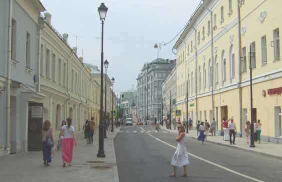 Басманный район. Улица Маросейка