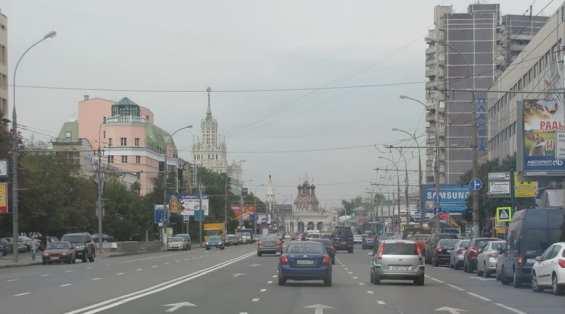 Таганский район. Марксистская улица утром