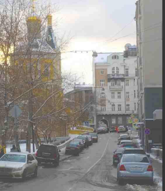 Москва. 3 Обыденский переулок