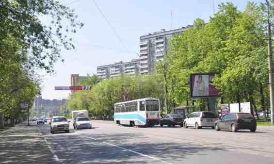 Москва. Улица Рогожский Вал летом
