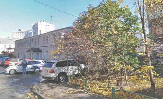 Москва. 3 Колобовский переулок 8 с 1 осенью
