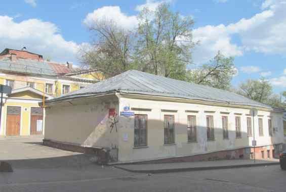 Москва. Малый Спасоглинищевский 3