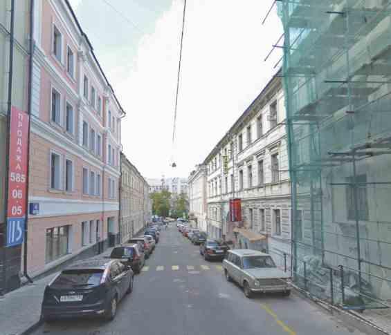 Старинный Нижний Кисельный переулок 3 с 1