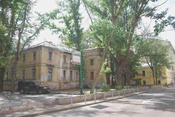 Москва. Банковский переулок